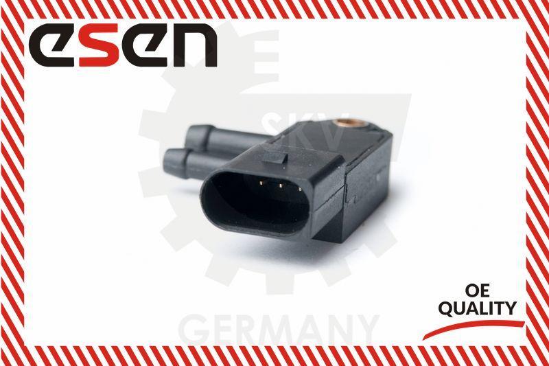 Abgasdrucksensor Metzger 0906104 Audi Seat Skoda VW